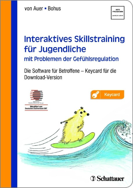 Interaktives Skillstraining für Jugendliche mit Problemen der Gefühlsregulation -