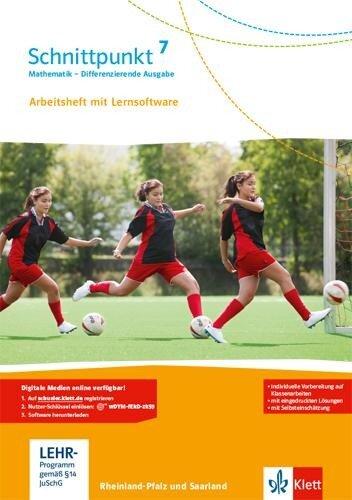 Schnittpunkt Mathematik - Differenzierende Ausgabe für Rheinland-Pfalz. Arbeitsheft mit Lösungsheft und Lernsoftware 7. Schuljahr -