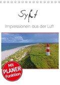 Sylt Impressionen aus der Luft (Tischkalender 2019 DIN A5 hoch) - Stefan Mosert