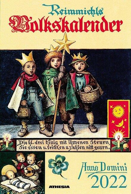 Reimmichls Volkskalender 2022. Ausgabe Südtirol -