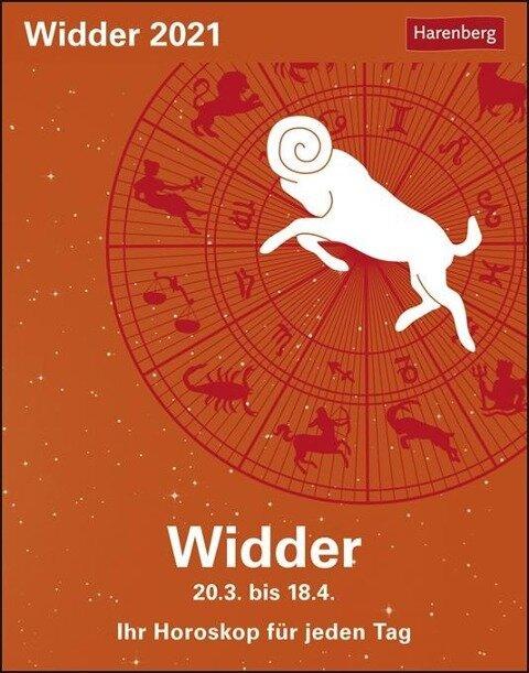 Sternzeichenkalender Widder 2020 - Robert Satorius