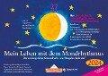 Mein Leben mit dem Mondrhythmus 2018. Taschenkalender - Edith Stadig