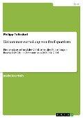 Einkommensverteilung von Profisportlern - Philipp Tolksdorf
