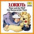 Loriots Peter und der Wolf / Der Karneval der Tiere. CD - Sergei Prokofjew, Camille Saint-Saens