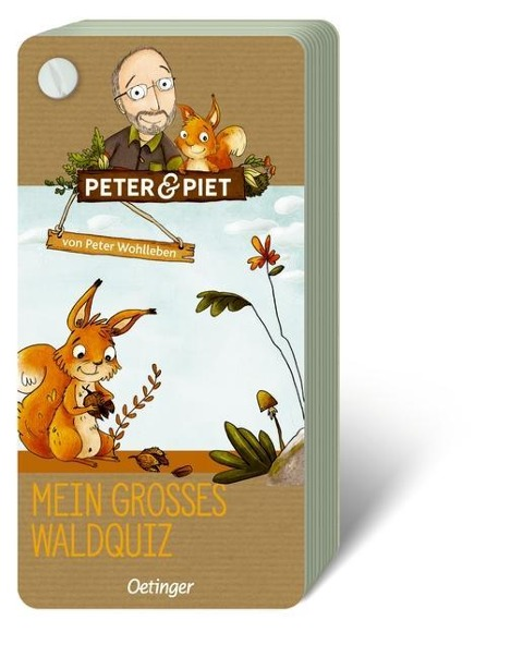Peter & Piet. Mein großes Wald-Quiz - Peter Wohlleben