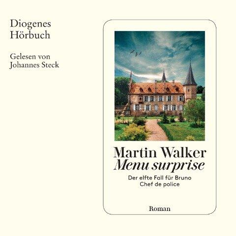 Menu surprise - Martin Walker