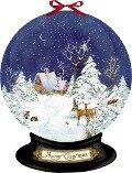 Wandkalender - Nostalgische Schneekugel -