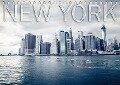 New York (Tischkalender 2017 DIN A5 quer) - Edel-One