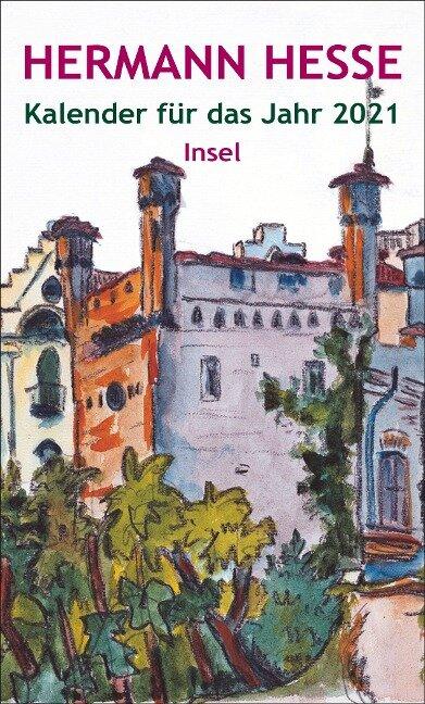 Insel-Kalender für das Jahr 2021 - Hermann Hesse