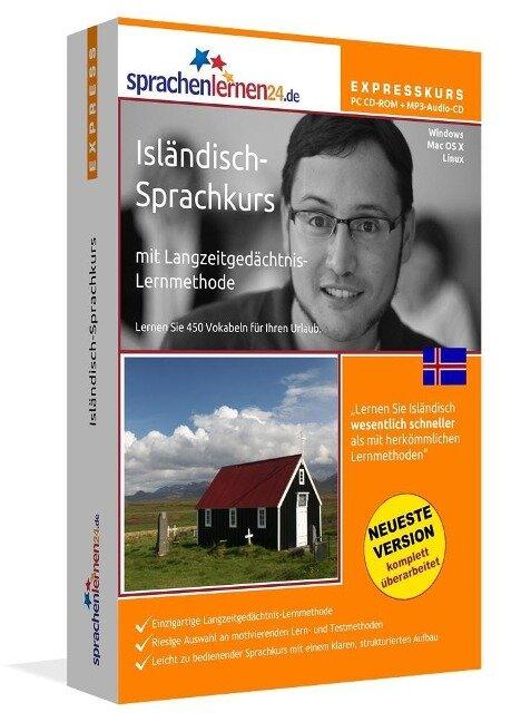 Sprachenlernen24.de Isländisch-Express-Sprachkurs. CD-ROM -