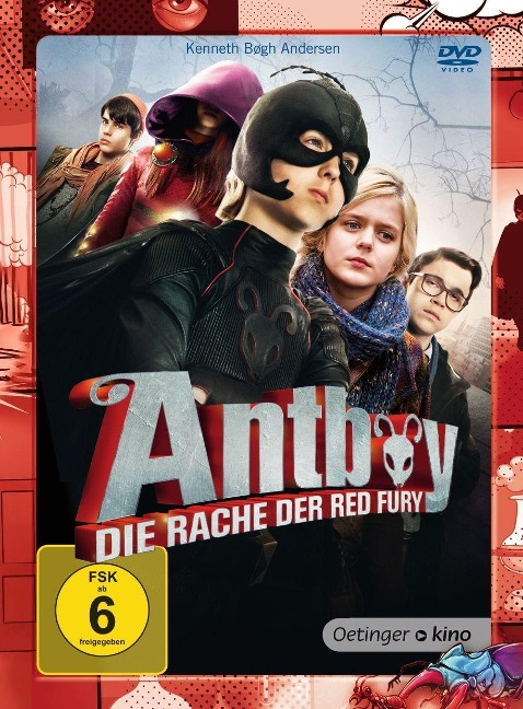 Antboy 2 - Die Rache der Red Fury (DVD) - Kenneth Bogh Andersen