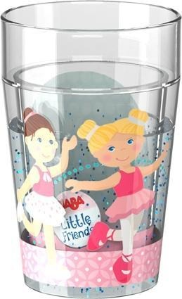 Glitzerbecher Little Friends Ballett -
