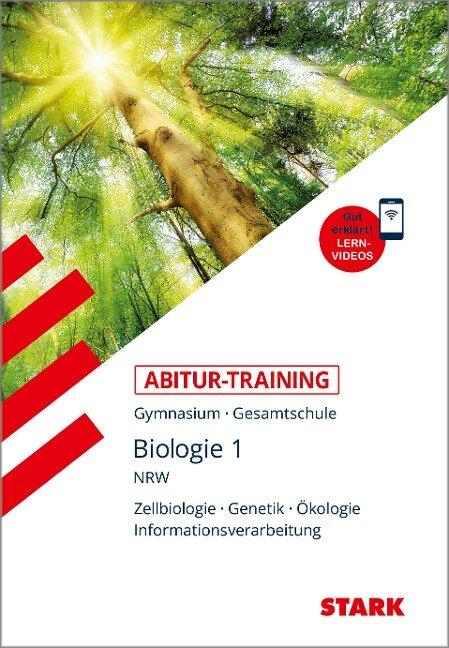 Abitur-Training - Biologie 1 Nordrhein-Westfalen - Rolf Brixius, Werner Bils