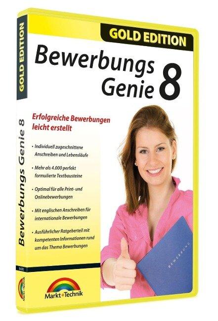 BewerbungsGenie 8 - Einfach professionale Bewerbungen schreiben -