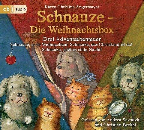Schnauze - Die Weihnachtsbox - Karen Christine Angermayer