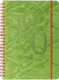 BRUNNEN Schülerkalender 2019/20 Camouflage green -