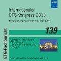 Internationaler ETG-Kongress 2013 -