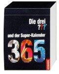 Die drei ??? und der Super-Kalender (drei Fragezeichen). Abreisskalender jahresunabhängig - Andrea Köhrsen, Sabine Köhrsen