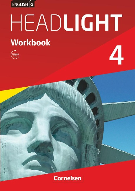 English G Headlight 04: 8. Schuljahr. Workbook mit Audios online -