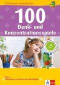 100 Denk- und Konzentrationsspiele -