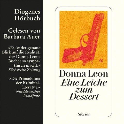Eine Leiche zum Dessert - Donna Leon