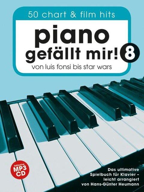 Piano Gefällt Mir! 8 (Notenbuch Spiralbindung & CD) -