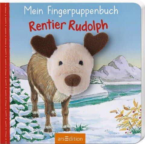 Mein Fingerpuppenbuch - Rentier Rudolph