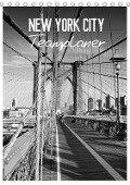 NEW YORK CITY Teamplaner (Tischkalender 2017 DIN A5 hoch) - Melanie Viola