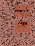 Orchester-Probespiel Violine -