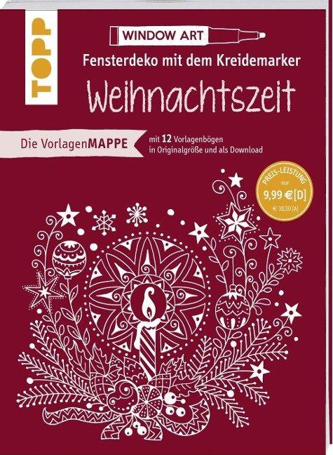 Vorlagenmappe Fensterdeko mit dem Kreidemarker - Weihnachtszeit - Ursula Schwab