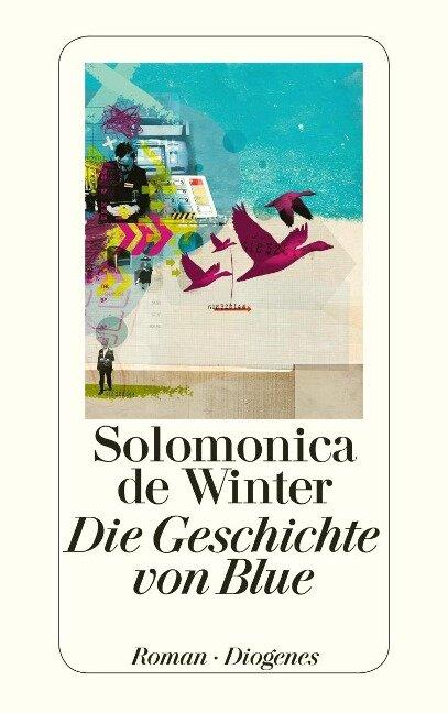 Die Geschichte von Blue - Solomonica de Winter
