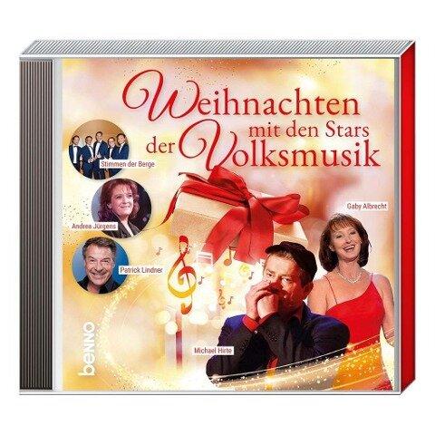 CD Weihnachten mit den Stars der Volksmusik -