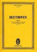 Klaviertrio Nr. 3 c-Moll - Ludwig van Beethoven