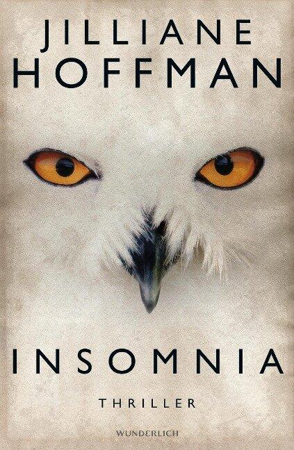 Insomnia - Jilliane Hoffman