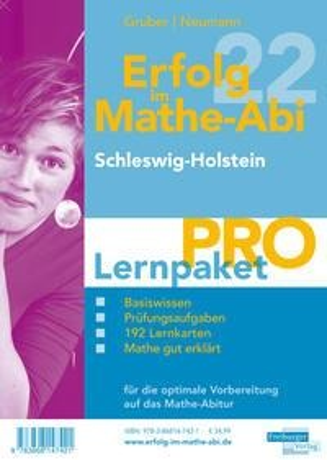 Erfolg im Mathe-Abi 2022 Lernpaket 'Pro' Schleswig-Holstein - Helmut Gruber, Robert Neumann