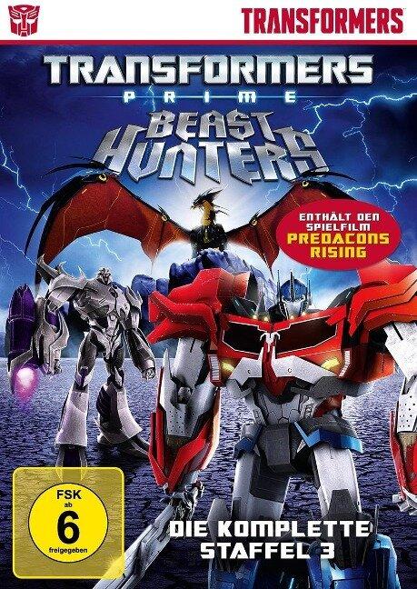 Transformers Prime - Marsha F. Griffin, Steven Melching, Duane Capizzi, Nicole Dubuc, Joseph Kuhr