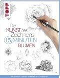 Die Kunst des Zeichnens 15 Minuten - Blumen -