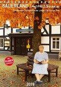 Sauerland Impressionen (Tischkalender 2019 DIN A5 hoch) - Heidi Bücker