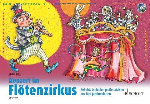 Konzert im Flötenzirkus - Rainer Butz