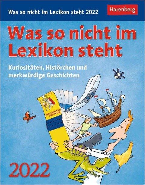 Was so nicht im Lexikon steht 2022 - Joachim Heimannsberg