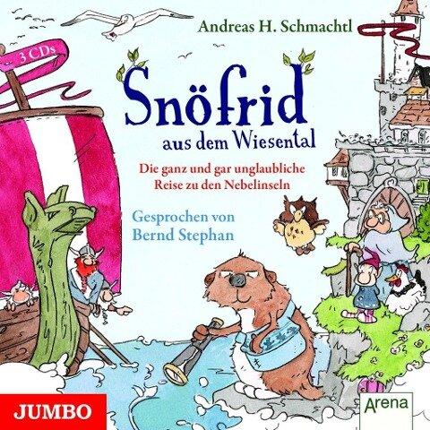 Snöfrid aus dem Wiesental 02. Die ganz und gar abenteuerliche Reise zu den Nebelinseln - Andreas H. Schmachtl