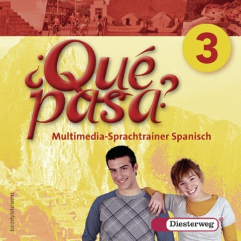 Qué pasa 3. Multimedia-Sprachtrainer. CD-ROM -