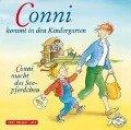 Conni kommt in den Kindergarten / Conni macht das Seepferdchen - Liane Schneider