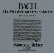 Das Wohltemperierte Klavier Vol.2 - Svjatoslav Richter