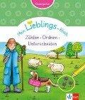 Klett Mein Lieblings-Block Zählen, Ordnen, Unterscheiden. Kindergarten -