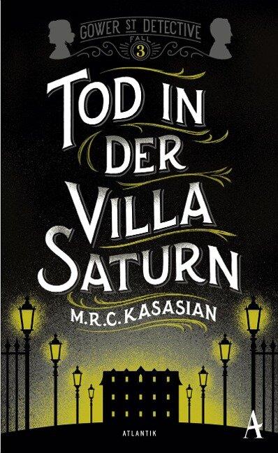 Tod in der Villa Saturn - M. R. C. Kasasian