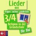 fragen-suchen-entdecken 3/4 für Baden-Württemberg. Lieder. CD - Barbara Ort, Ludwig Rendle