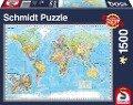 Die Welt, 1.500 Teile Puzzle -