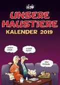 Uli Stein Unsere Haustiere - Wandkalender 2019 - Uli Stein