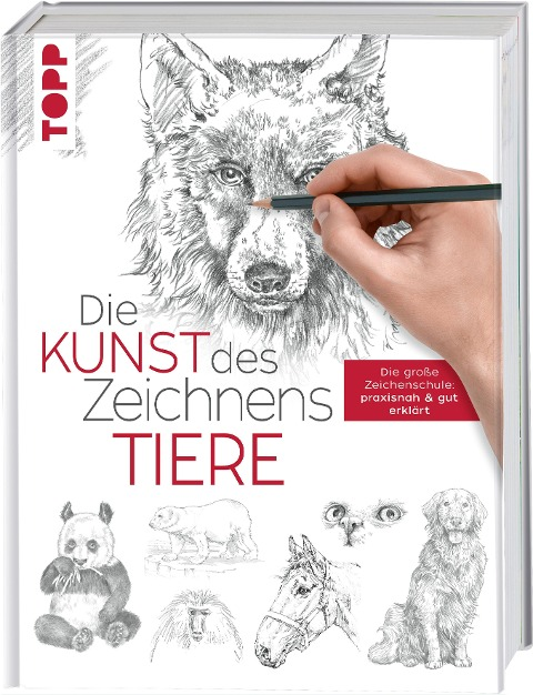Die Kunst des Zeichnens - Tiere - Frechverlag